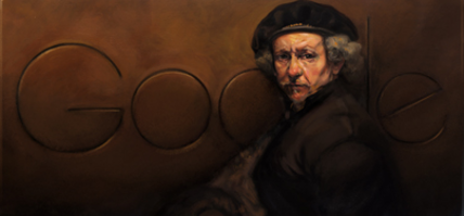 Rembrandt van Rijn: A Dutch master remembered in a Google Doodle